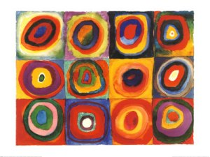Squares with Concentric Circles, 1913